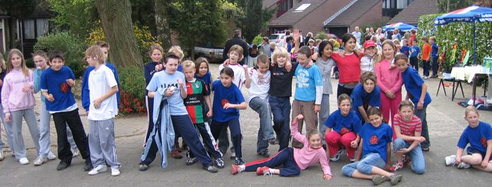 Prins Clausschool Nijmegen kwam in actie voor SHAMAJO