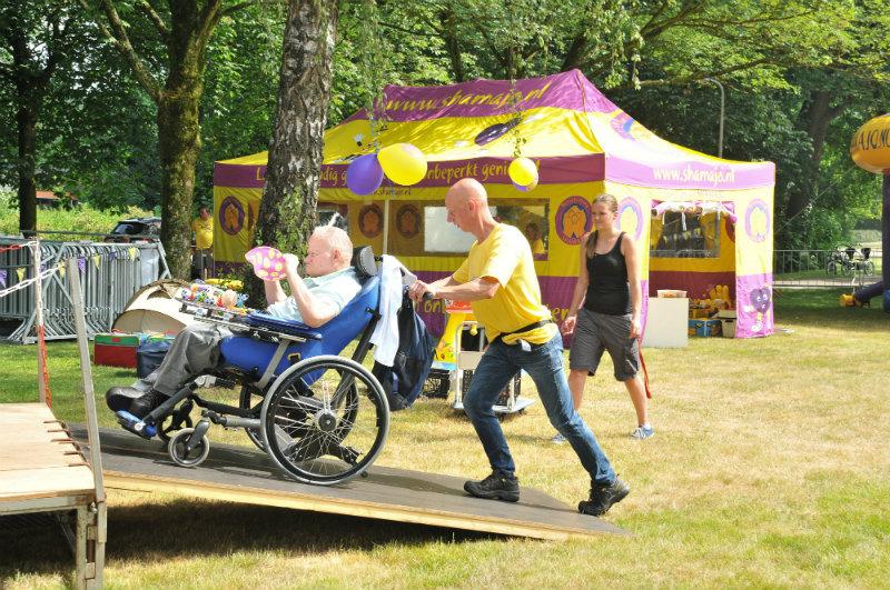 aangepaste kermis gehandicapten
