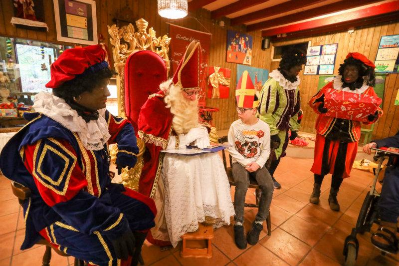 Sinterklaasfeest beperking SHAMAJO