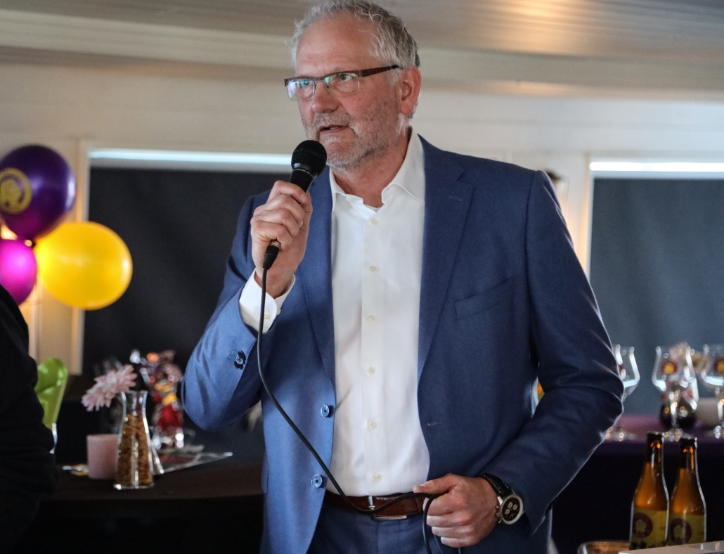 Jan Kregting voorzitter Wensstichting SHAMAJO