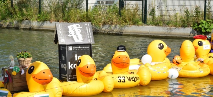 Duckrace Sponsoractie Wensstichting SHAMAJO